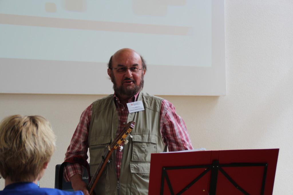 Ständchen des af Geschäftsführers Klaus Amoneit